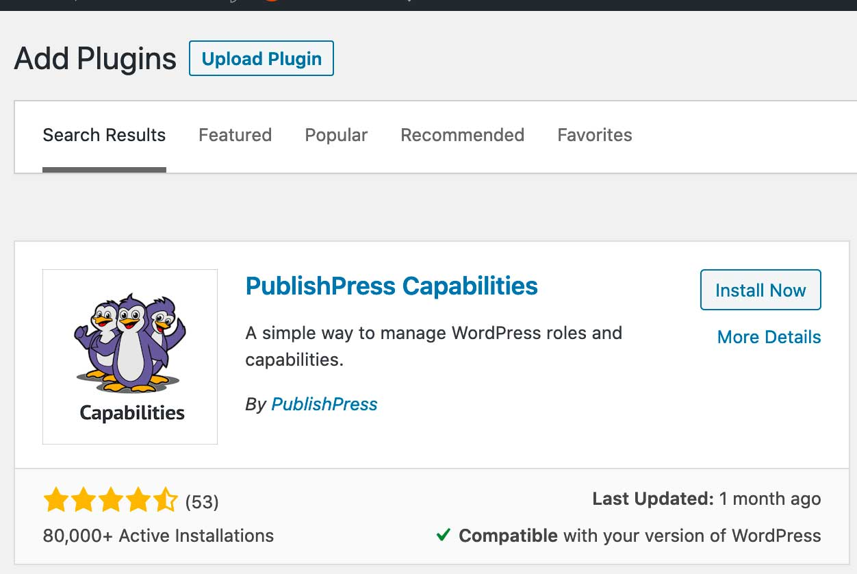 PublishPress Capabilities
